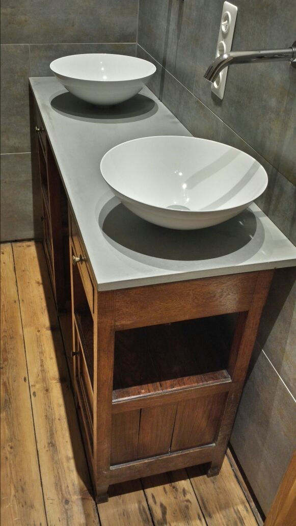 Beton Waschtischplatte